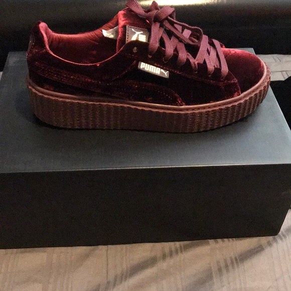 Puma Creepers Velvet Purple gentle